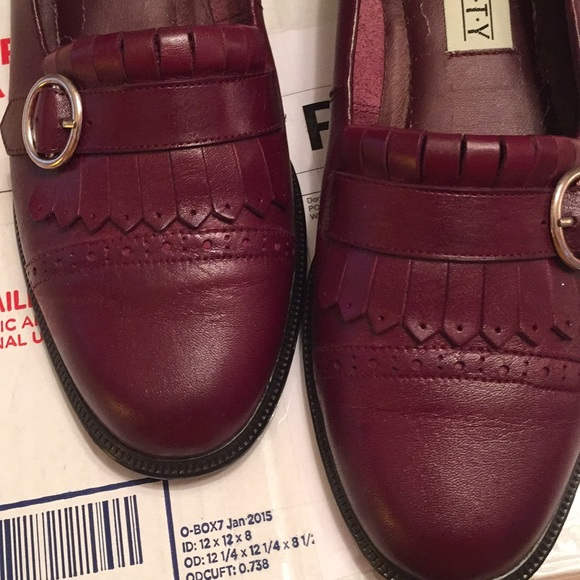 footwear offer discounts high fashion Affinity Shoes | Ladies Burgundy Loafers | Poshmark